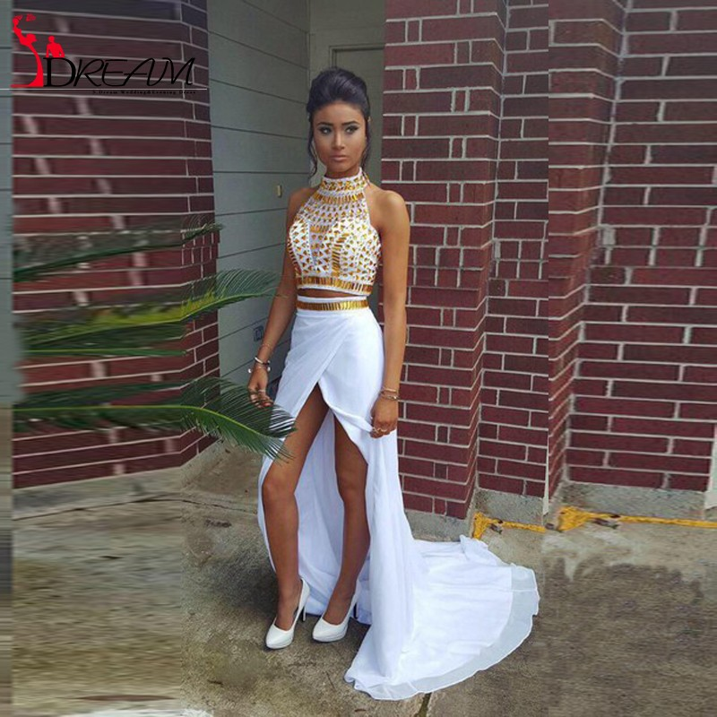 Sexy White and ... African Prom Dresses 2017